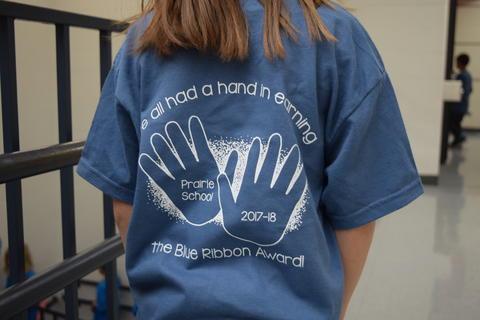Prairie School Celebrates Blue 59