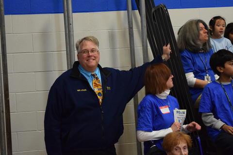 Prairie School Celebrates Blue 53