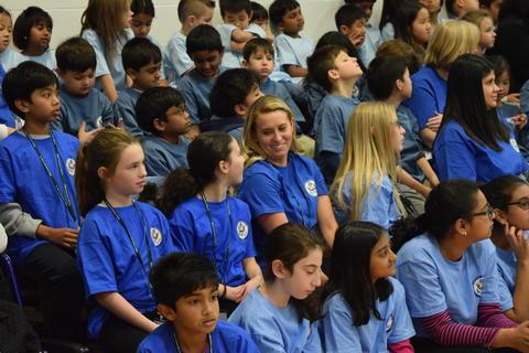 Prairie School Celebrates Blue 56