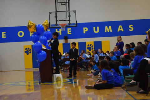 Prairie School Celebrates Blue 57