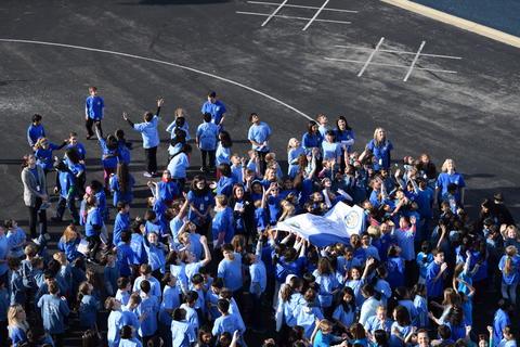 Prairie School Celebrates Blue 60
