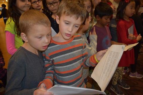 Bringing holiday music to Belmont Village 09