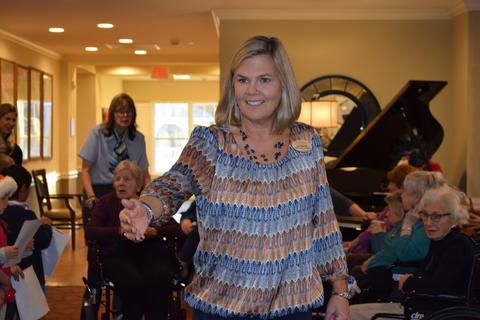 Bringing holiday music to Belmont Village 14