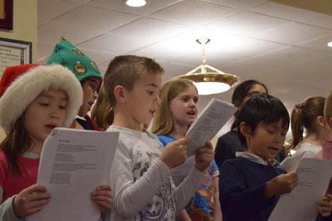 Bringing holiday music to Belmont Village 21