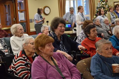 Bringing holiday music to Belmont Village 25