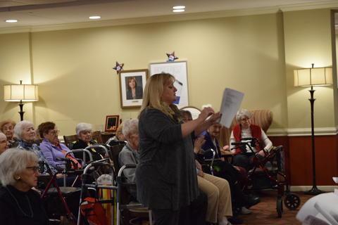Bringing holiday music to Belmont Village 26