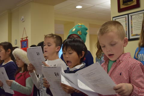 Bringing holiday music to Belmont Village 34