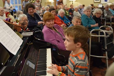 Bringing holiday music to Belmont Village 20