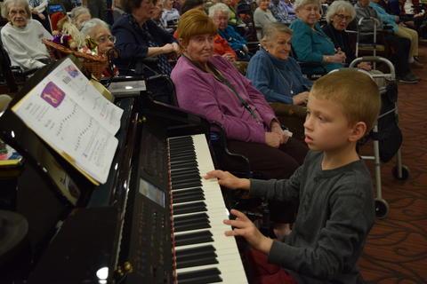 Bringing holiday music to Belmont Village 28