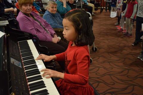 Bringing holiday music to Belmont Village 32