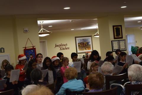 Bringing holiday music to Belmont Village 36