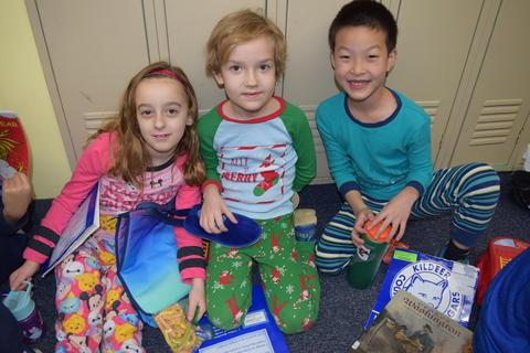 Pajama Day Fun at Kildeer – Feb. 2018 0016