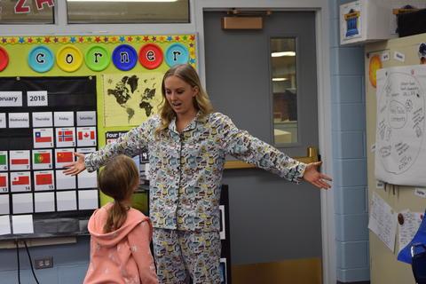 Pajama Day Fun at Kildeer – Feb. 2018 0057