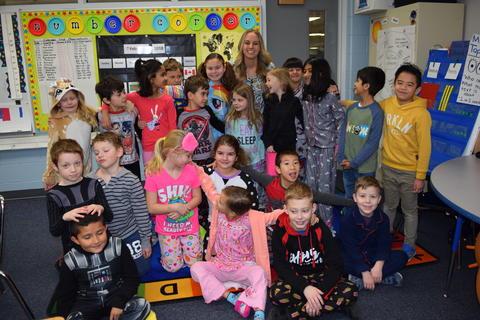 Pajama Day Fun at Kildeer – Feb. 2018 0058