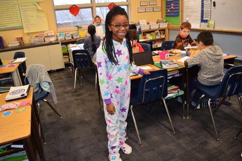 Pajama Day Fun at Kildeer – Feb. 2018 0069