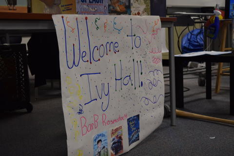 Welcomes Author Barb Rosenstock image for DSC 0069