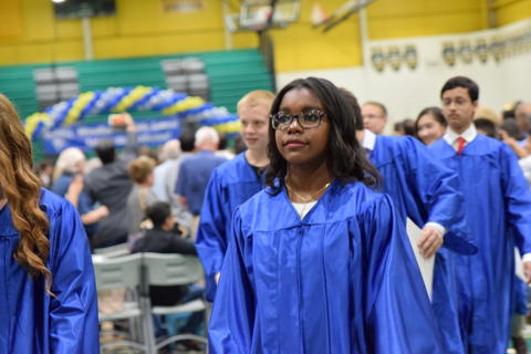 Woodlawn Class of 2018 Graduation 0368