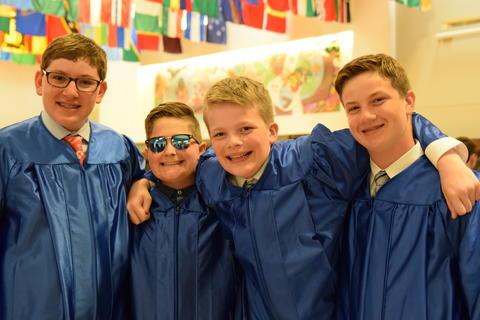 Twin Groves Graduation Class of 2018 0016