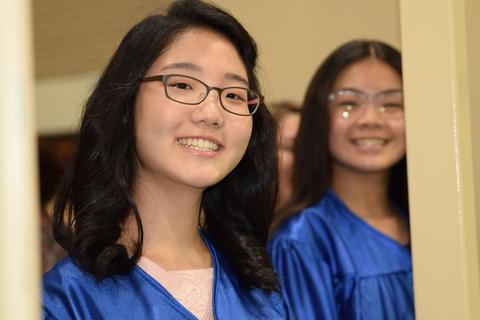 Twin Groves Graduation Class of 2018 0086