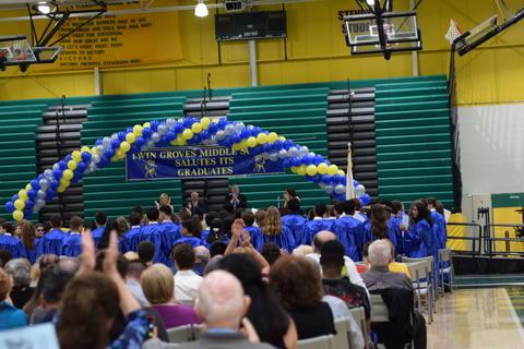 Twin Groves Graduation Class of 2018 0117