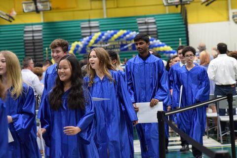 Twin Groves Graduation Class of 2018 0123