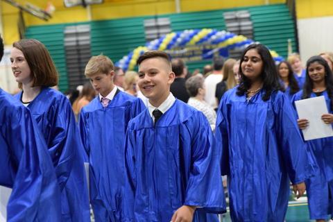 Twin Groves Graduation Class of 2018 0125
