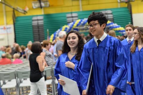 Twin Groves Graduation Class of 2018 0130