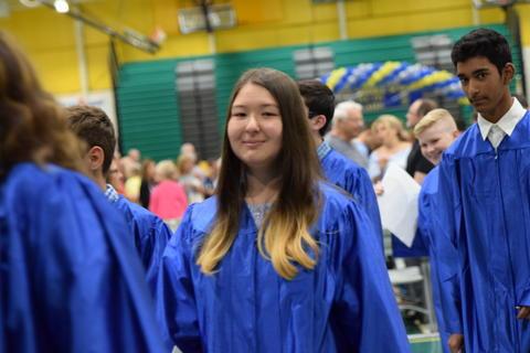 Twin Groves Graduation Class of 2018 0147