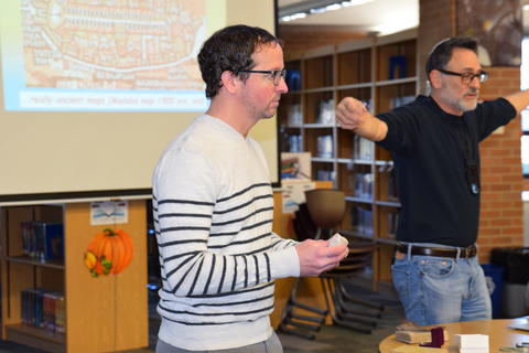 Exploring Archaeology with Guest Speaker David Feder 0018