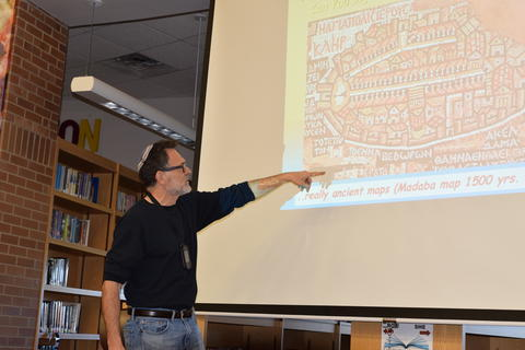 Exploring Archaeology with Guest Speaker David Feder 0038