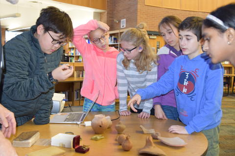 Exploring Archaeology with Guest Speaker David Feder 0120