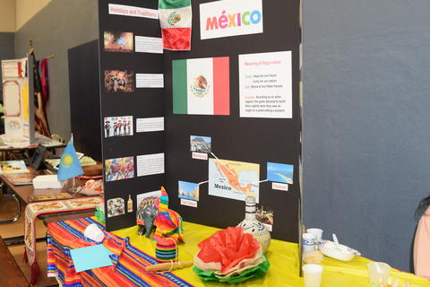 project display board for Mexico
