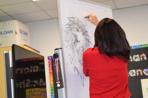 Author Yangsook Choi Visits Willow Grove - Photo #8