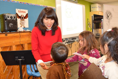 Author Yangsook Choi Visits Willow Grove - Photo #1