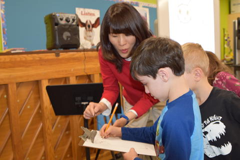 Author Yangsook Choi Visits Willow Grove - Photo #22