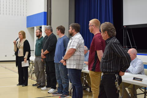 Board of Education Recognition - Photo #21