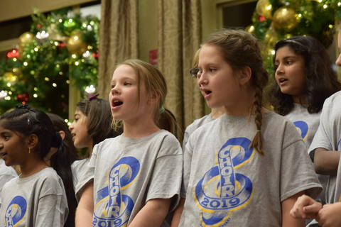 Singing with Sedgebook Residents - Photo #2