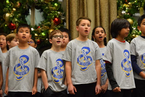 Singing with Sedgebook Residents - Photo #11