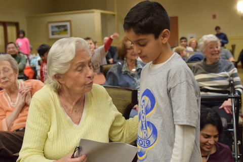 Singing with Sedgebook Residents - Photo #10