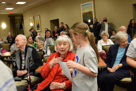 Singing with Sedgebook Residents - Photo #14