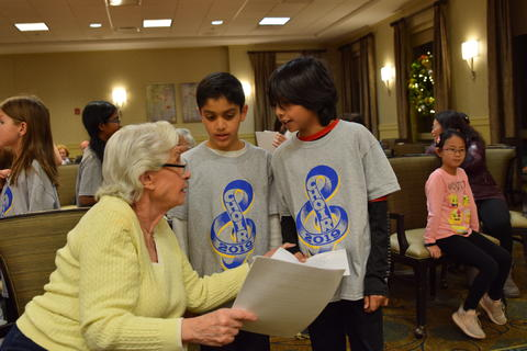 Singing with Sedgebook Residents - Photo #16