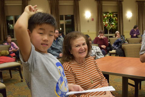 Singing with Sedgebook Residents - Photo #22