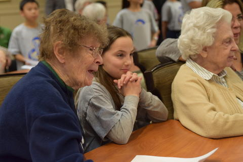 Singing with Sedgebook Residents - Photo #26