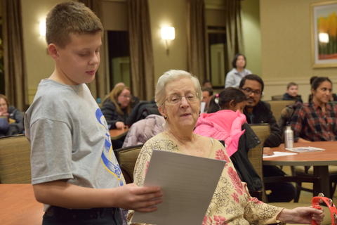 Singing with Sedgebook Residents - Photo #27
