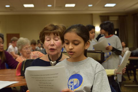 Singing with Sedgebook Residents - Photo #17
