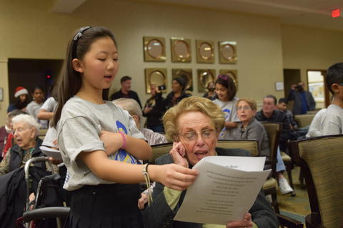 Singing with Sedgebook Residents - Photo #30