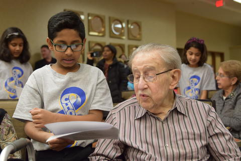 Singing with Sedgebook Residents - Photo #31