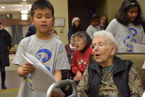 Singing with Sedgebook Residents - Photo #32