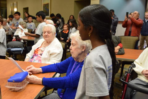 Singing with Sedgebook Residents - Photo #33