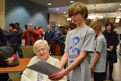 Singing with Sedgebook Residents - Photo #34